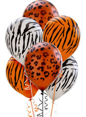 Animal Print Pearl Balloons 20ct