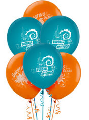 Phineas and Ferb Latex Balloons 12in 6ct