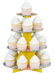 Color Wheel Cupcake Stand