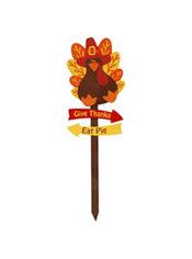 Turkey Garden Stake