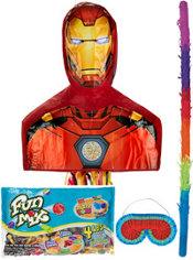 Pull String Iron Man Pinata Kit
