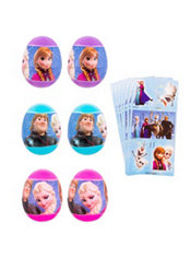 Frozen Sticker Easter Eggs 6ct