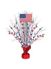 American Flag Spray Centerpiece