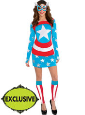 Adult Sassy American Dream Costume