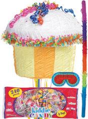 Pull String Cupcake Pinata Kit