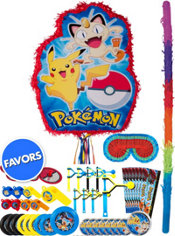 Pokemon Pinata Kit with Favors