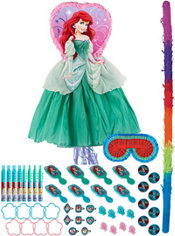 Ariel Pinata Kit with Favors Deluxe - Little Mermaid
