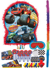 Blaze and the Monster Machines Pinata Kit with Favors