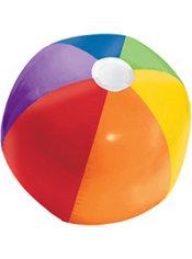 Rainbow Beach Ball 13in Party City