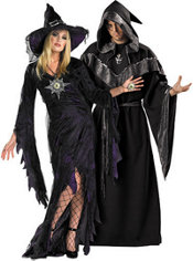 Sorceress and Premier Mystic Sorcerer Couples Costumes