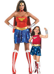Wonder Woman Mommy and Me Costumes