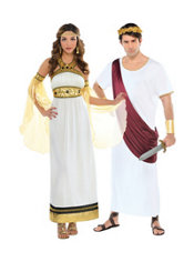 Roman Empress and Centurion Couples Costumes