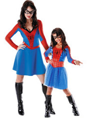 Spider-Girl Mommy and Me Costumes