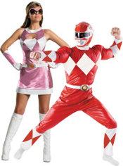 Power Rangers Couples Costumes
