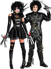 Miss Scissorhands and Grand Heritage Edward Scissorhands Couples Costumes