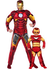 Iron Man Daddy and Me Costumes