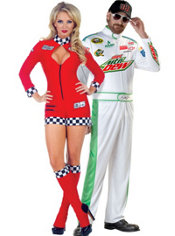 NASCAR Dale Earnhardt Couples Costumes