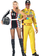 NASCAR Kyle Busch Couples Costumes