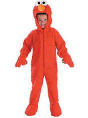 Toddler Boys Elmo Costume Deluxe