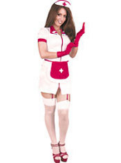 Adult Nurse Feelfine Costume