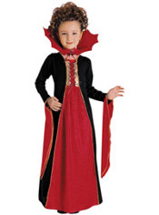 Girls Gothic Vampress Costume