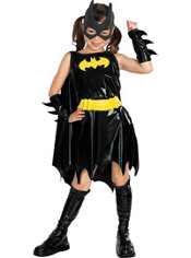 Girls Batgirl Costume Deluxe - Batman