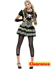 Teen Girls Punk Rocker Jr Costume