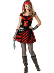 Teen Girls Jewel of the Sea Pirate Costume