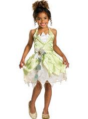 Girls Classic Princess Tiana Costume - Princess and the Frog