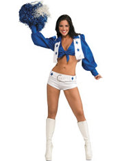 Adult Dallas Cowboys Cheerleader Costume