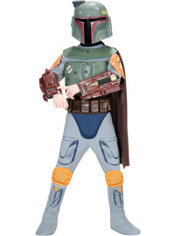 Boys Boba Fett Costume Deluxe - Star Wars