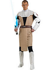 Adult Obi Wan Kenobi Costume Deluxe - Star Wars
