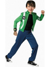 Boys Ben 10 Costume - Alien Force