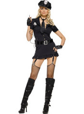 Adult Dirty Cop Costume