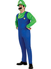 Adult Luigi Costume - Super Mario Brothers