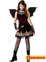 Girls Strangelings Candle in the Dark Fairy Costume