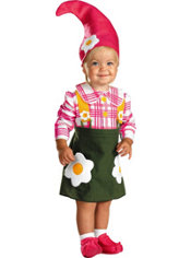 Baby Flower Garden Gnome Costume
