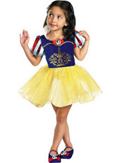 Toddler Girls Classic Snow White Ballerina Costume
