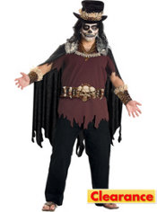 Adult Witch Doctor Costume Plus Size Premier