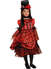 Girls Vampire Princess Costume