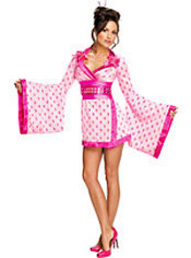 Adult Geisha Costume - Playboy