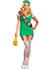 Adult Don't Touch My Cookies Costume Plus Size