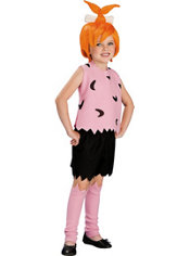 Girls Pebbles Flintstone Costume - The Flintstones