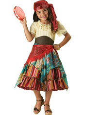 Girls Fortune Teller Costume Elite