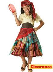 Girls Fortune Teller Costume Elite