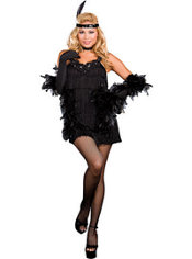 Adult All That Jazz Flapper Costume Plus Size