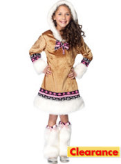 Girls Igloo Cutie Costume