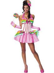 Adult Sexy Lollipop Costume