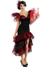 Adult Flamenco Dancer Costume