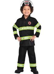 Boys Reflective Firefighter Costume